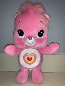 "Care Bear Wonderheart 11"" Animatronic Plush Sing Dance Talk Pink 2012 *See Video"