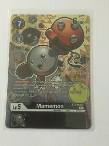 Digimon TCG  BT6-064  MAMEMON     SUPER RARE  - ALTERNATIVE  ART