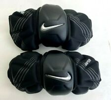 New Nike Vapor Adults Medium Black Lacrosse Protective Arm Pads