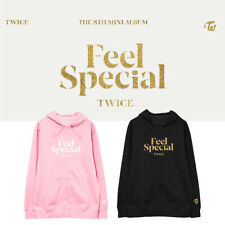 Kpop TWICE The 8th Mini Album Feel Special Cap Hoodie Loose Cotton Sweatshirt