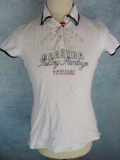 GAASTRA Polo Taille M - Blanc avec motifs - Manches courtes