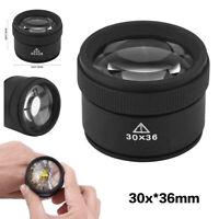 Portable 30X Jewelers Eye Loupe Glass Magnifying Magnifier Glass Jewelry Diamond