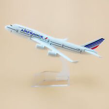 16cm Airplane Model Plane Air France Airlines Boeing 747 B747 Aircraft Model Toy