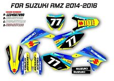 SUZUKI RMZ 250-450 2014-2016 GRAPHIC KIT