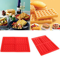 Fashion Silicone Waffles Muffins Mold Cake Chocolate Pan Bakeware Baking ToolsSD