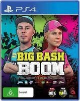 Big Bash Boom Sony PS4 Playstation 4 Cricket Sports Arcade Game Party Gaming