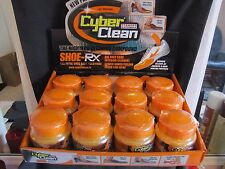 12 PC. Display Case CYBER CLEAN SHOE RX-SHOE DEODORIZER & CLEANER, KILLS GERMS!