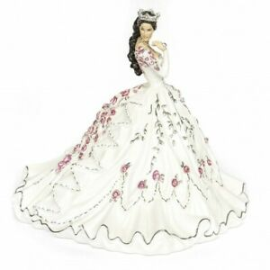 THE ENGLISH LADIES GYPSY ROSE BRUNETTE DOLL FIGURINE NEW AND BOXED