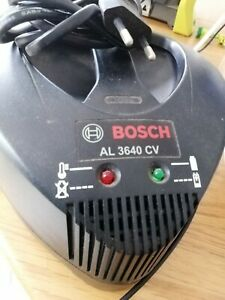 BOSCH Genuine AL3640CV Charger (to charge: BOSCH 36V-Li Batteries)