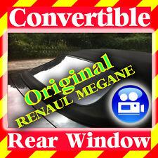 ORIGINAL Renault Mégane Cabriolet lunette arrière fenêtre (98-02) 7701042530