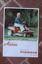 Ancien catalogue jardinage outillage motoculture TROMECA - tondeuses - années 70