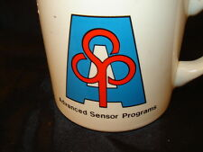 mug cup ASP advanced sensor programs military defense coffee tea planes jets art