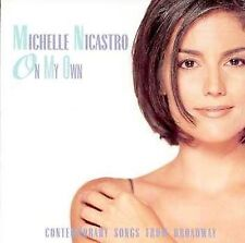 On My Own * by Michelle Nicastro (Vocals) (CD, Aug-1997, Varèse Sarabande (USA))