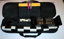 15 of Triple Weighted Chess Pieces Board Caryall Bag Set NEW