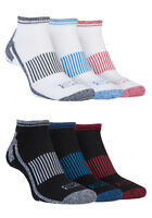 Storm Bloc - 3 Pack Mens Breathable Cushioned Low Cut Sports Ankle Running Socks