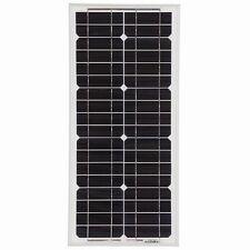 Solar Panel 20W Monocrystalline 12V Ideal For Camping