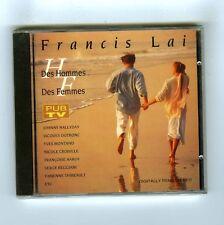 CD (NEW) OST COMPILATION FRANCIS LAI DES HOMMES DES FEMMES HALLYDAY HARDY