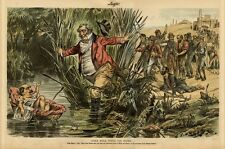 JOHN BULL FINDS HIS MOSES OPEN AMERICAN LAND OF MILK AND HONEY TO PAUPER LABOR