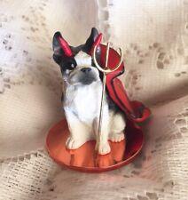 Boston Terrier Devil Figurine Conversation Concepts Little Ones