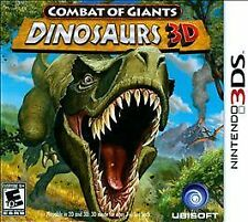 Combat of Giants: Dinosaurs 3D (Nintendo 3DS, 2011)