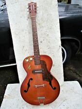 LARK KAY  ARCHTOP GUITAR 1950'S, JIMMY REED PICKUP,  KLUSONS, CASE, VERY COOL