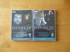HENRY IV PARTS 1 & 2 BBC SHAKESPEARE COLLECTION GENUINE R2 DVDS NEW/SEALED