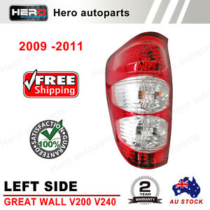 Tail Light Lamp For GREAT WALL V200 V240 UTE 6/2009 - 12/2011 Left Side LH LHS