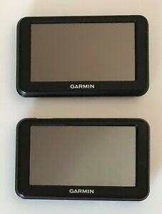 """LOT OF 2 GARMIN NUVI 40LM 4.3"""" SCREEN AUTOMOTIVE GPS (UNITS ONLY)"""