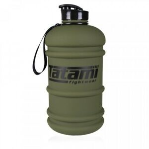 Tatami Water Bottle 2.2L Jug BJJ Training Flask MMA Half Gallon Green Gym Bottle