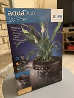 New In Box Elive Aquaduo 20 Aquarium Fish Tank Filter 114 GPH Free Shipping