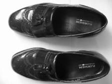 Florsheim Dress Shoes Black Wing Tip Tassel Loafers / 8.5 EEE / Worn Once