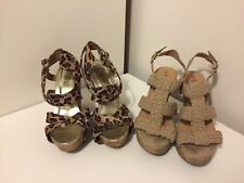 2x Pairs Of Wedges. Size 5. New Look