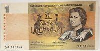 AUSTRALIA 1966 ... $ 1 .. ONE DOLLAR BANKNOTE ... STARNOTE ZAA *