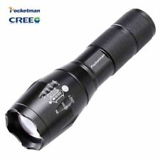 High Bright E17 3800 Lumens CREE XM-L T6 LED Flashlight 5-Mode Zoomable linterna