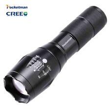 Alta luminoso E17 3800 LM CREE XM-L T6 Torcia LED 5-Mode Zoomabile Linterna