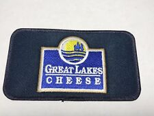 Great Lakes Cheese Hiram Ohio OH Company Logo Manufacturer Dairy Sew Patch I