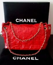 CHANEL Women's Patent Leather Handbags & Bags