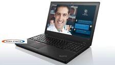 "PC Portatile Notebook Lenovo T560 16Gb Ram 256Gb SSD i5 6300U 3 Ghz Win10 15,6"""