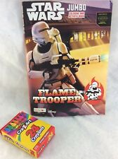 Star Wars Coloring And Activity Book Flame Trooper Disney Free crayons& Shipping