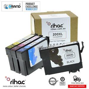 Rihac 200XL Ink cartridge alternative for Epson Printer XP-300 XP310 XP400