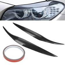 Front Fiberglass Headlight Eyebrows Eyelid Lids Cover For Ford Fiesta MK7.5 MK8