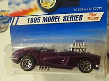 Hot Wheels '58 Corvette Purple! 7 sp