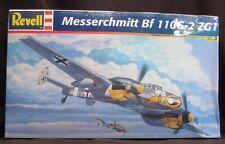 Messerchmitt Bf 110G-2 ZG1 German WWII Revell 1:48 Scale Model Plane NIB Sealed