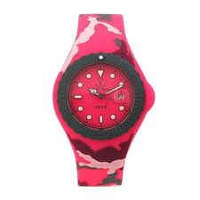 ToyWatch Women's Pink Dial pink Rubber Strap Quartz Watch JYA02PS