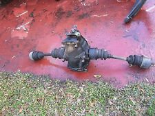 107 Mercedes 72-85 450 380 SL SLC differential carrier assembly w/both 1/2 axels