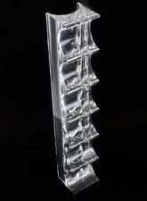 Alessio Tasca Italian 1929- Lucite Brutalist Sculpture Optical Tower, signed