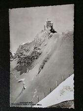 JUNGFRAUJOCH METEOROLOGICAL STATION 1947 POSTCARD
