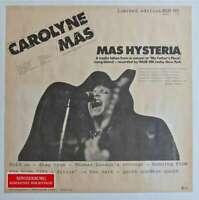 Carolyne Mas Mas Hysteria LP Album Ltd Vinyl Schallplatte 108972