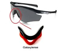 Galaxy Nose Pads Rubber Kits For Oakley M2 Frame Sunglasses Red Color