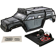 Thunder Tiger 1/8 K-Rock MT4 G5 * IRON GRAY BODY, ROLL CAGE, LIGHT BAR & DRIVER